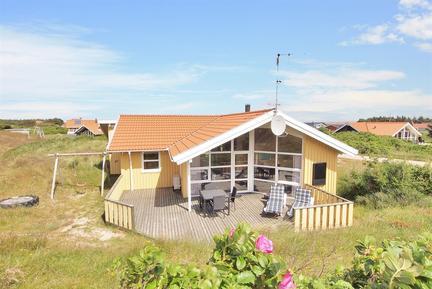 Gemütliches Ferienhaus : Region Holmsland Klit für 8 Personen