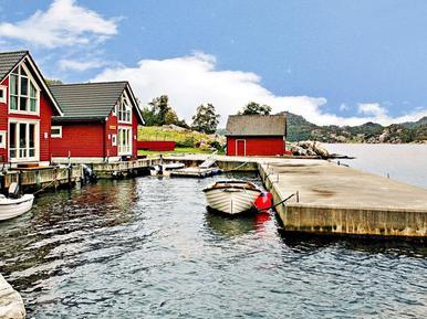 Gemütliches Ferienhaus : Region Boknafjord für 5 Personen