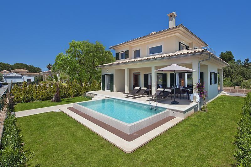Ferienhaus mit Privatpool für 8 Personen ca 240 m² in Es Bacares Mallorca Bucht von Pollença