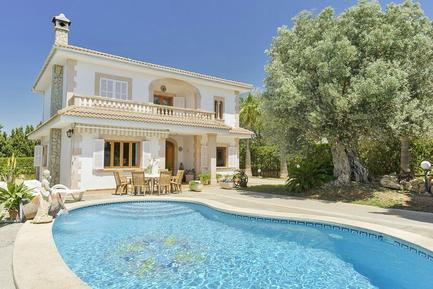 Gemütliches Ferienhaus : Region Mallorca für 11 Personen