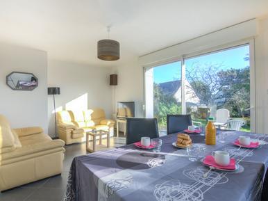 Gemütliches Ferienhaus : Region Quiberon für 4 Personen