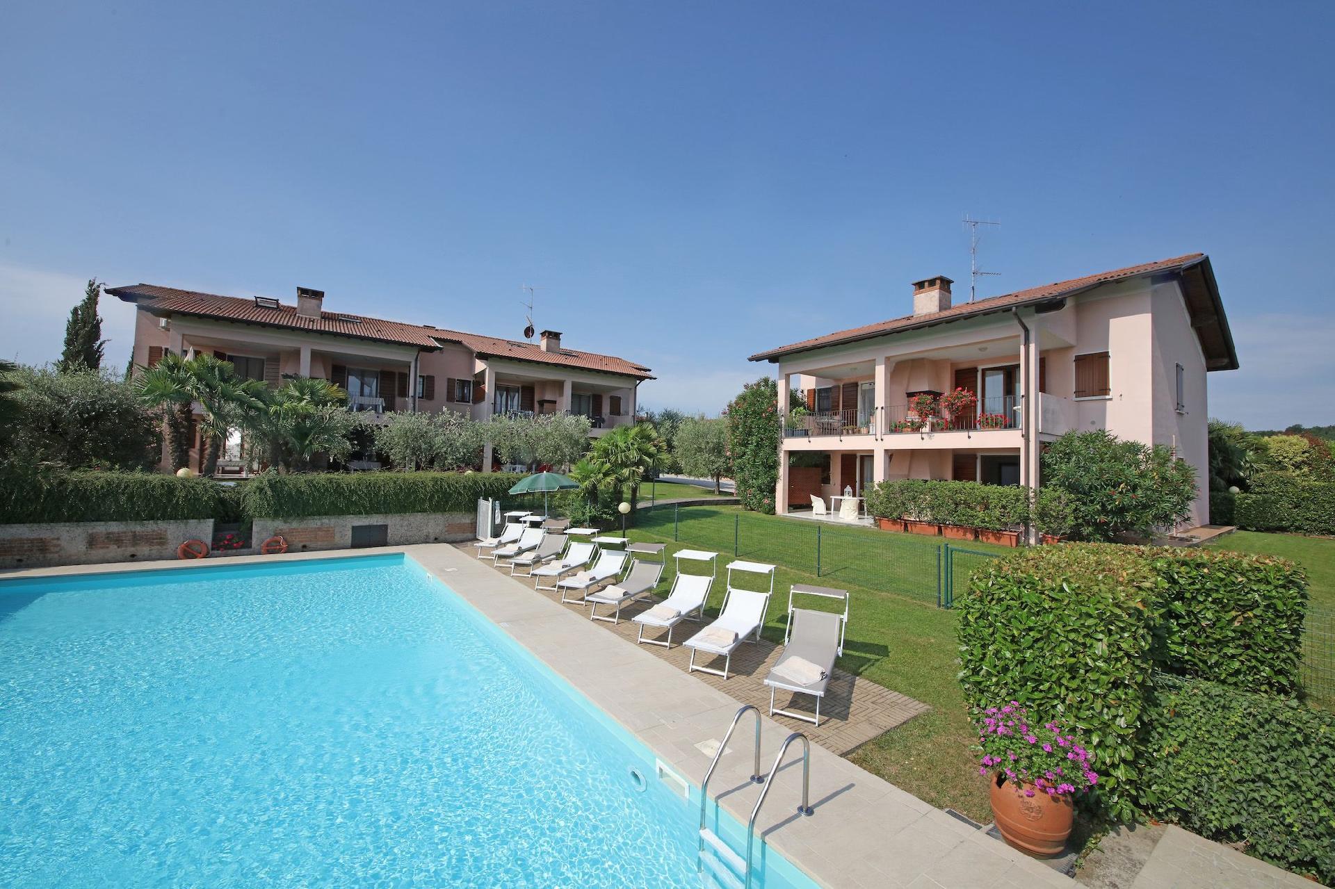 Ferienwohnung für 4 Personen ca. 70 m² i   Manerba del Garda