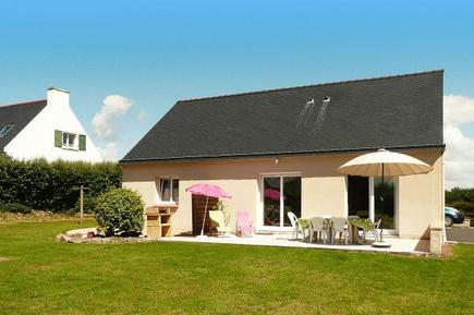 Gemütliches Ferienhaus : Region Bretagne für 6 Personen
