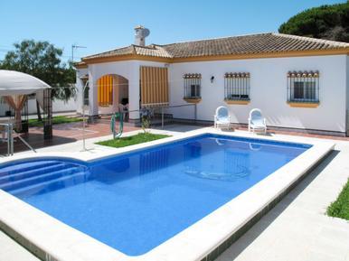 Gemütliches Ferienhaus : Region Costa de la Luz für 8 Personen