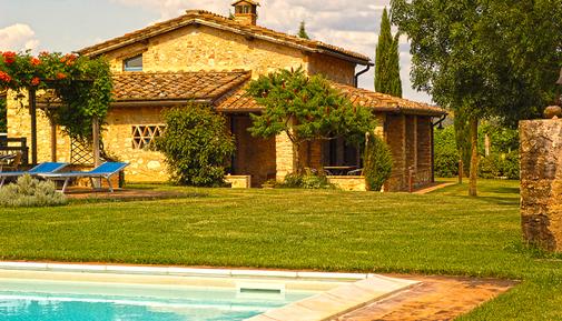 Gemütliches Ferienhaus : Region Monteriggioni für 6 Personen