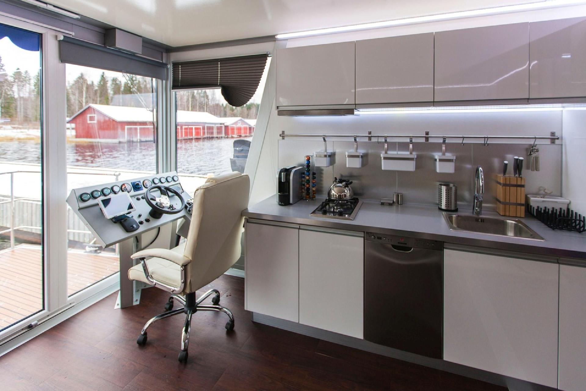 Hausboot/ Schiff für 8 Personen ca. 42 m² Boot