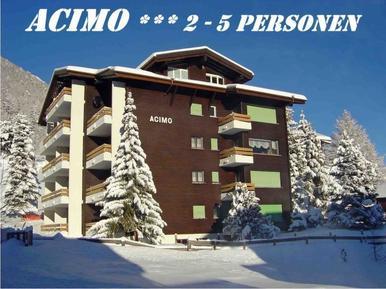 Für 4 Personen: Hübsches Apartment / Ferienwohnung in der Region Saas-Fee