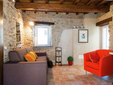 Gemütliches Ferienhaus : Region Pescaglia für 4 Personen
