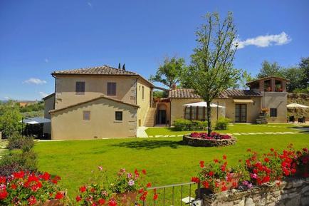 Gemütliches Ferienhaus : Region Rapolano Terme für 6 Personen