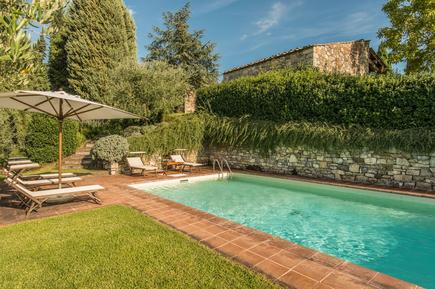Gemütliches Ferienhaus : Region Radda in Chianti für 9 Personen