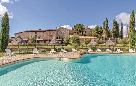 Für 4 Personen: Hübsches Apartment / Ferienwohnung in der Region Monticiano