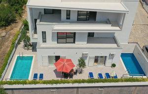 Gemütliches Ferienhaus : Region Dalmatien für 8 Personen