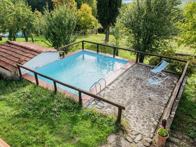 Gemütliches Ferienhaus : Region San Marcello Pistoiese für 6 Personen