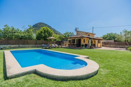 Gemütliches Ferienhaus : Region Balearen für 4 Personen