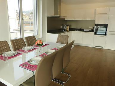 Für 6 Personen: Hübsches Apartment / Ferienwohnung in der Region Genfersee