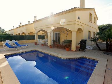 Gemütliches Ferienhaus : Region Costa-Dorada für 11 Personen