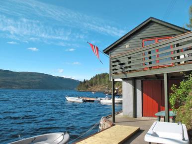 Gemütliches Ferienhaus : Region Hordaland für 3 Personen