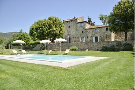 Gemütliches Ferienhaus : Region San Giovanni d'Asso für 12 Personen