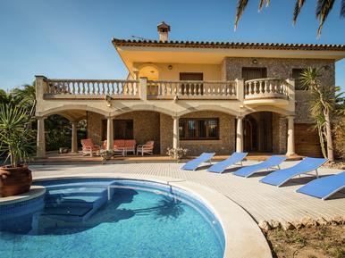 Gemütliches Ferienhaus : Region Costa-Brava für 9 Personen