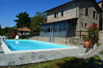 Für 4 Personen: Hübsches Apartment / Ferienwohnung in der Region Chiusi della Verna