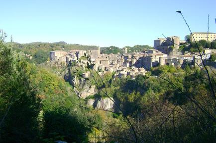 Gemütliches Ferienhaus : Region Sorano für 4 Personen