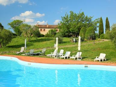 Gemütliches Ferienhaus : Region Monteriggioni für 4 Personen