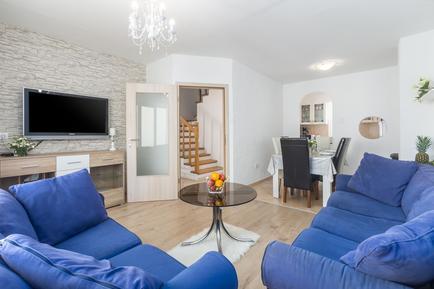 Gemütliches Ferienhaus : Region Istrien für 7 Personen