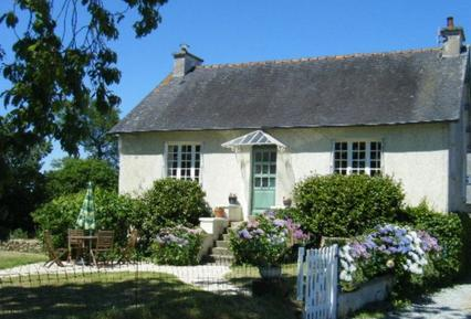 Gemütliches Ferienhaus : Region Bretagne für 4 Personen