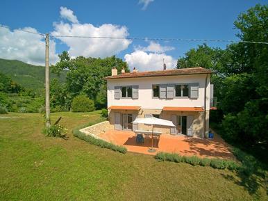 Gemütliches Ferienhaus : Region Strettoia für 8 Personen