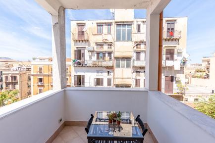 Für 4 Personen: Hübsches Apartment / Ferienwohnung in der Region Palermo