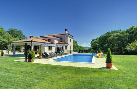 Gemütliches Ferienhaus : Region Rovinj für 8 Personen