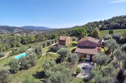 Gemütliches Ferienhaus : Region Pieve Santo Stefano für 10 Personen