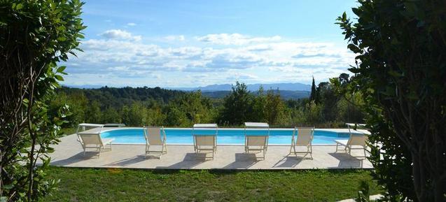 Gemütliches Ferienhaus : Region Palaia für 6 Personen