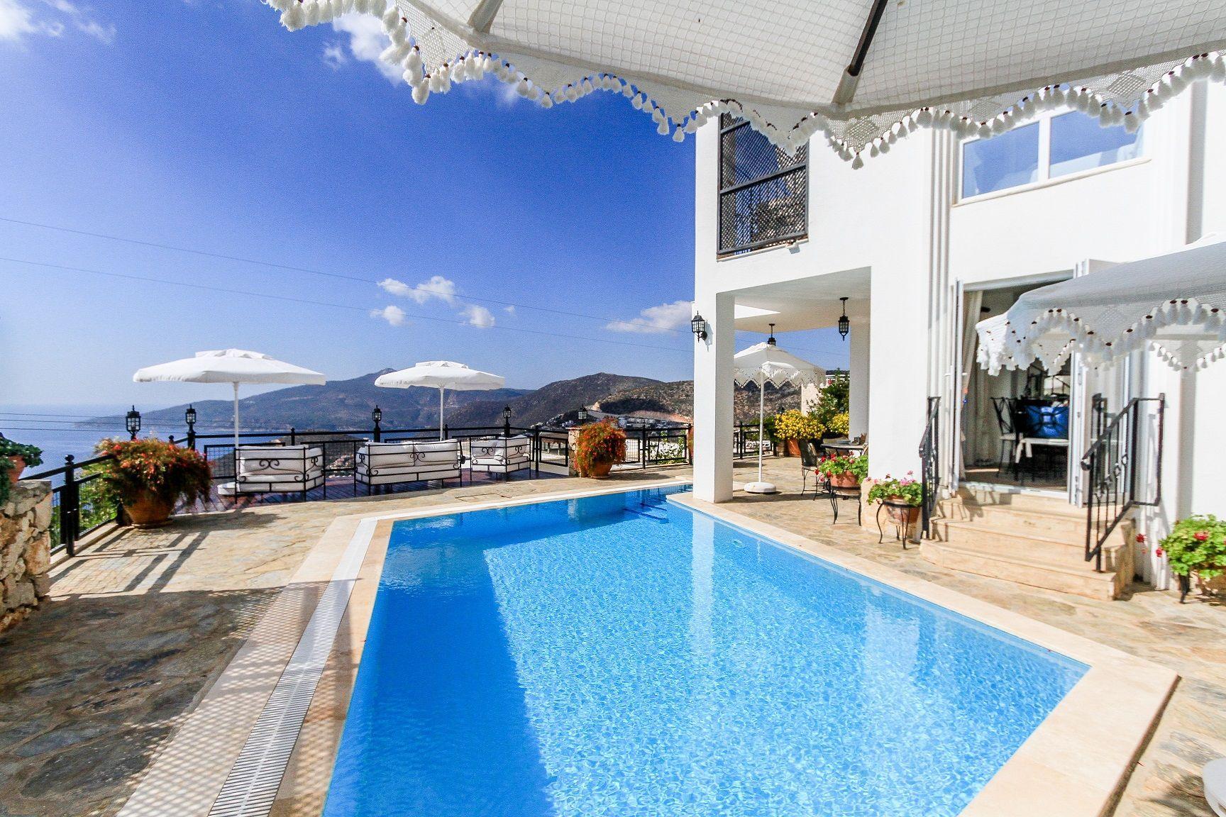 Ferienhaus mit Privatpool für 6 Personen in K  in Türkei