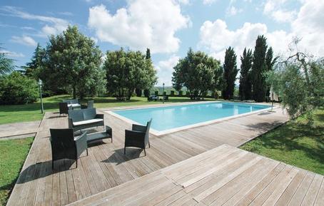Für 6 Personen: Hübsches Apartment / Ferienwohnung in der Region Lajatico