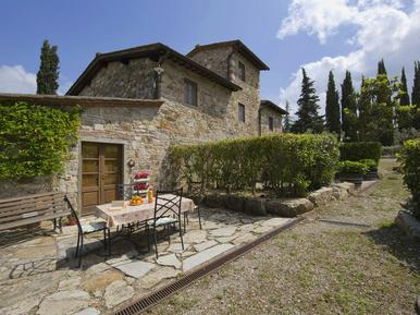 Für 4 Personen: Hübsches Apartment / Ferienwohnung in der Region Radda in Chianti