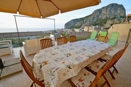 Für 8 Personen: Hübsches Apartment / Ferienwohnung in der Region Cefalù