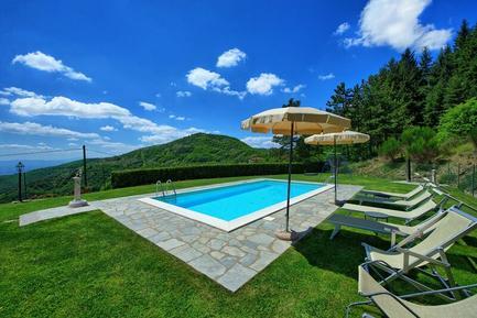 Gemütliches Ferienhaus : Region Toskana für 4 Personen