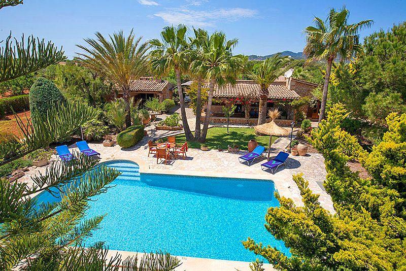 Ferienhaus mit Privatpool für 4 Personen in Cala d Or Mallorca Südostküste von Mallorca