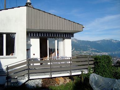 Gemütliches Ferienhaus : Region Genfersee für 5 Personen