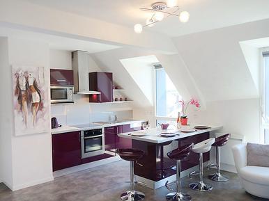 Für 4 Personen: Hübsches Apartment / Ferienwohnung in der Region Saint-Malo