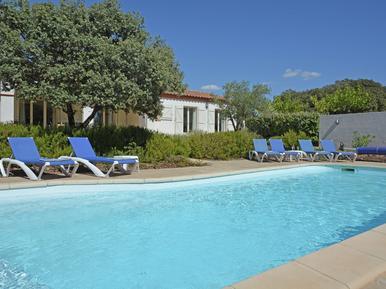 Gemütliches Ferienhaus : Region Languedoc-Roussillon für 8 Personen