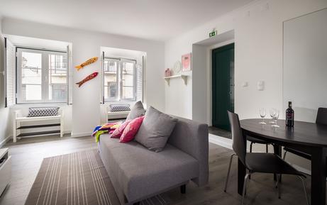 Für 3 Personen: Hübsches Apartment / Ferienwohnung in der Region Costa de Lisboa