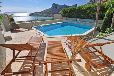 Gemütliches Ferienhaus : Region Makarska Riviera für 14 Personen