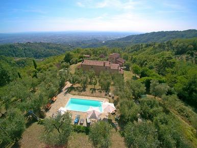 Gemütliches Ferienhaus : Region Buggiano für 5 Personen