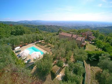 Gemütliches Ferienhaus : Region Buggiano für 6 Personen