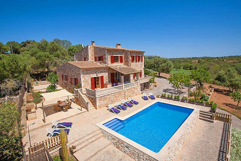 Ferienhaus mit Privatpool für 8 Personen in Felanitx Mallorca Südostküste von Mallorca