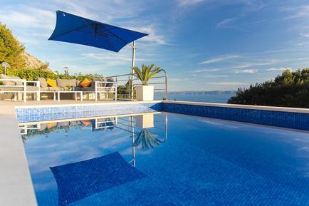 Gemütliches Ferienhaus : Region Makarska für 8 Personen