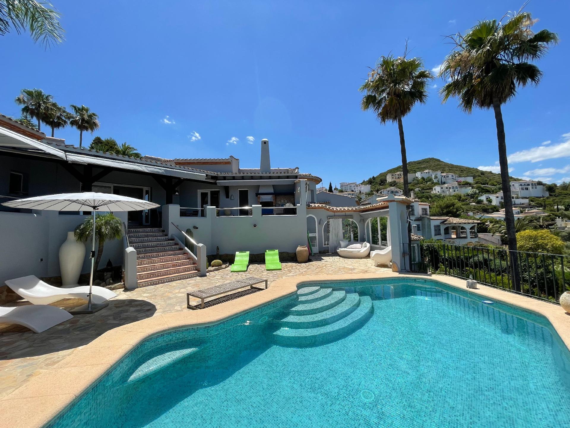 Ferienhaus mit Privatpool für 8 Personen ca.    Costa Blanca