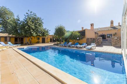Gemütliches Ferienhaus : Region Algarve für 18 Personen
